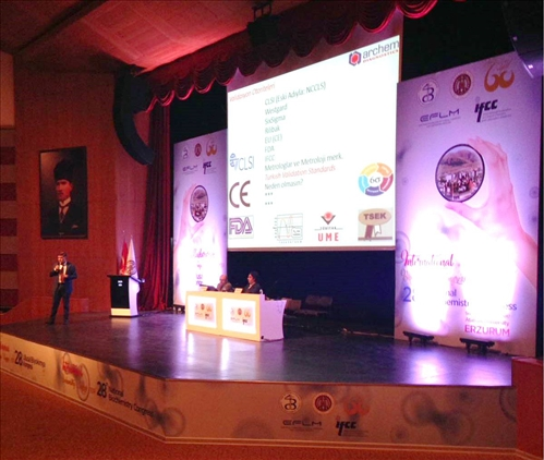 Türkish Biochemical Society National Congress 2017 Erzurum IFCC Supported
