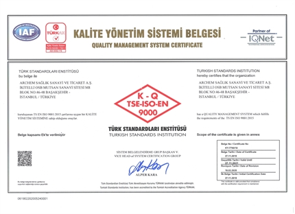 Picture for category TS EN ISO 9001:2015